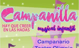 El musical infantil navideño de Campanilla llega el 21 de diciembre al teatro Olimpia