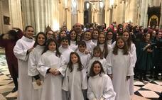 Pueri Angelorum actuó en la catedral de la Almudena de Madrid