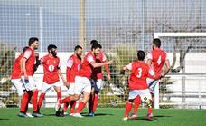 El 'Campa' consigue un valioso triunfo ante el Gimnástico Don Benito (1-2)