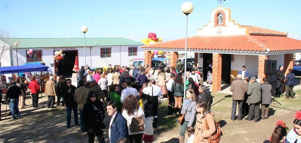 Campanario disfruta este fin de semana de la primera romería del año en San Valentín