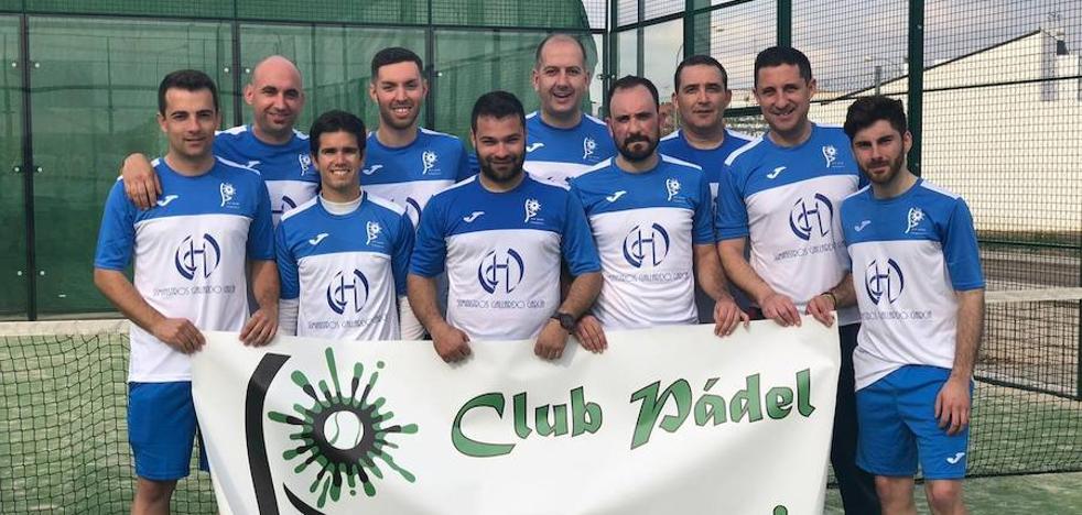 El Club Pádel Campanario desciende a tercera categoría