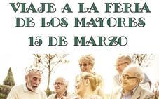 El Ayuntamiento organiza un viaje a la Feria de los Mayores el próximo 15 de marzo