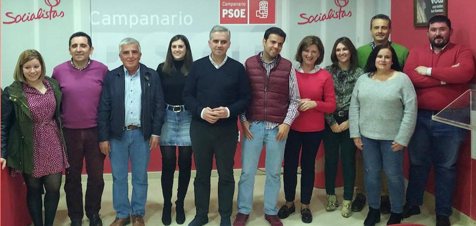 Elías López presenta la lista del PSOE para las elecciones del 26-M