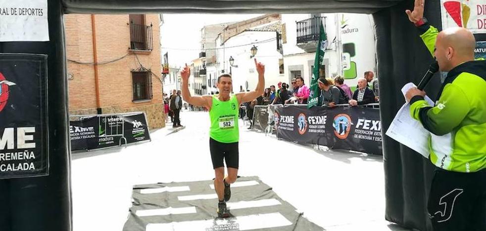 El campanariense Tony Carmona completa la dura Carrera Arroyo de los Molinos