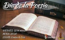 Acto con motivo del Día de la Poesía, este viernes en el centro de ocio