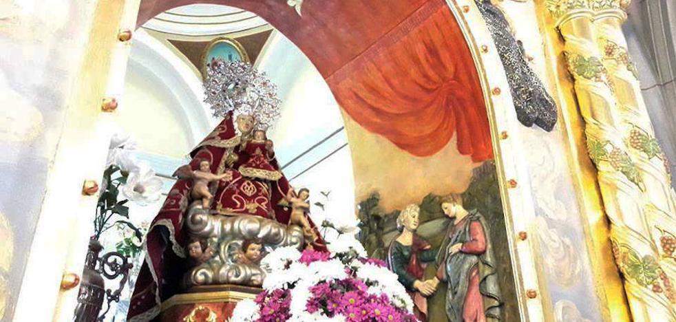 Hoy se cumplen 79 años desde que la imagen actual de la Virgen de Piedraescrita llegó a Campanario