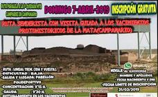Ruta senderista con visita al yacimiento de La Mata, el domingo 7 de abril
