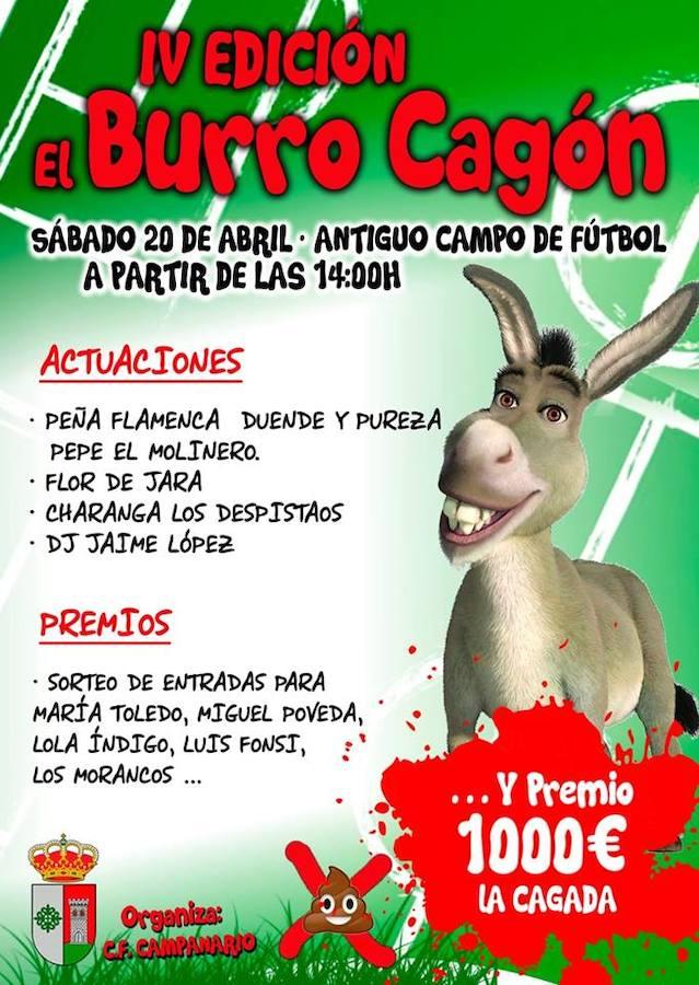 Este sábado regresa 'El burro cagón' al viejo campo de fútbol