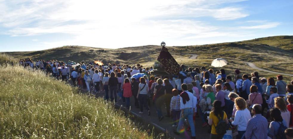 La Virgen de Piedraescrita regresa este domingo a su ermita