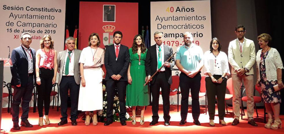 Elías López se hace con el bastón de mando por tercera legislatura consecutiva