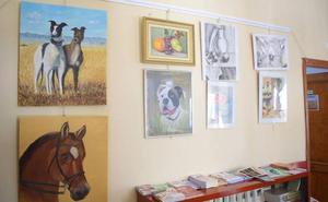 Exposición de los alumnos del curso de pintura