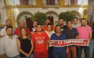 Juan José Murillo presenta al equipo que integra la nueva directiva del 'Campa'