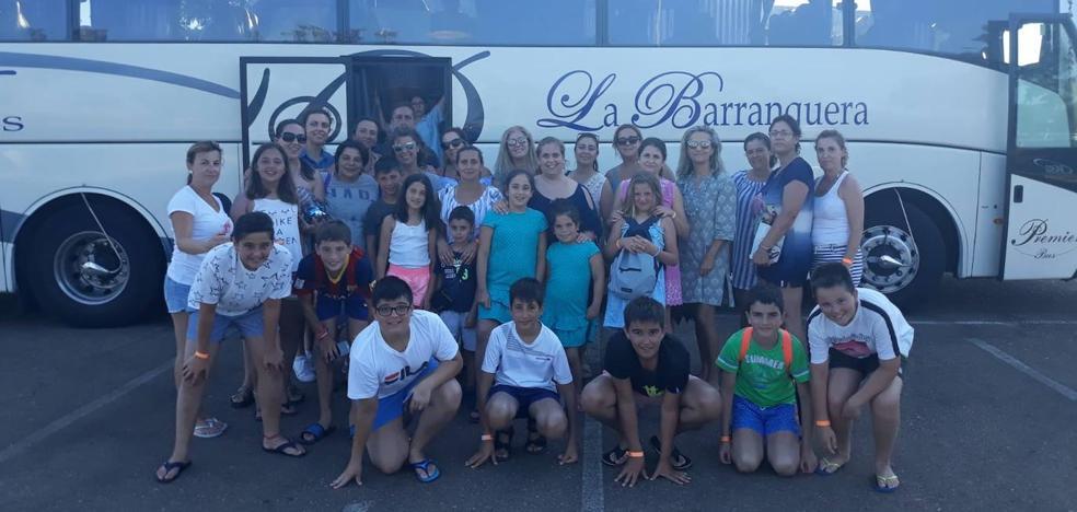 Excursión de fin de curso a Aqua Badajoz