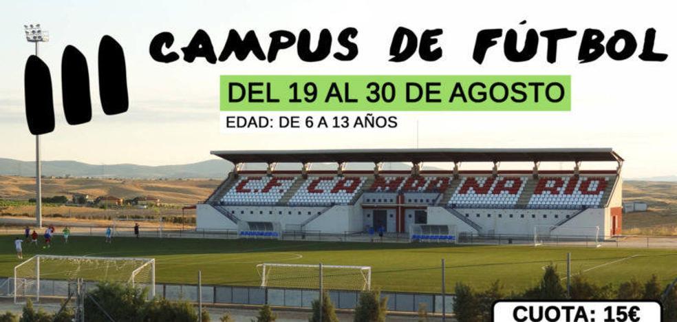 Abierto el plazo de inscripción en el III Campus de Fútbol