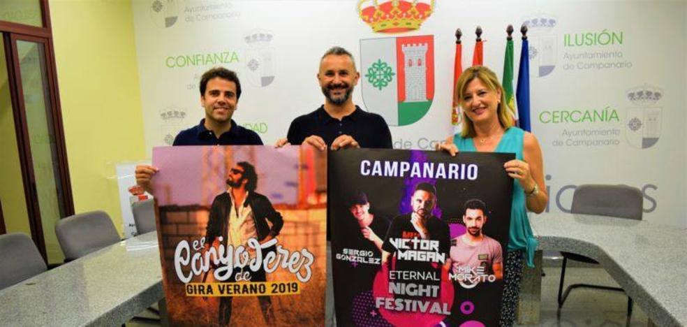 'El Canijo de Jerez' y el festival 'Eternal Night Festival', platos fuertes musicales en la feria de agosto
