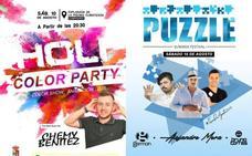 Fiesta del color y Puzzle Summer Festival, el sábado 10 de agosto
