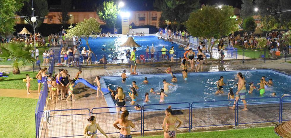 Este viernes 2 de agosto se celebra la fiesta nocturna del agua