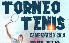 Este martes 30 se disputa un torneo de tenis