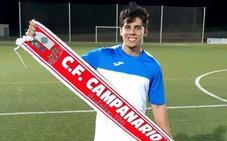 El centrocampista Javi Vera es el nuevo fichaje del 'Campa'
