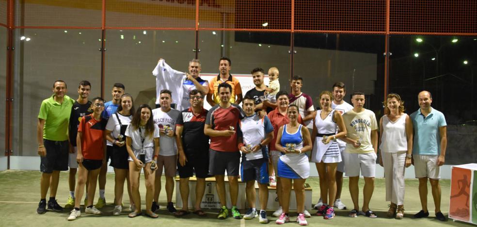 Pedro Gutiérrez y Paco Valencia se proclaman ganadores del torneo de pádel