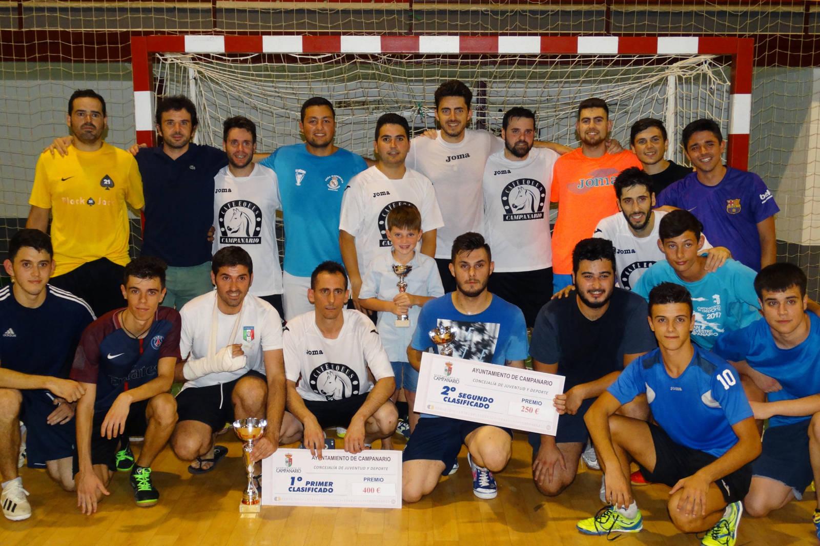 El 'Café Equus' gana la Liga de Fútbol Sala de verano por 2-0