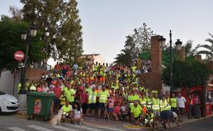 Éxito de participación en la ruta senderista nocturna a Magacela