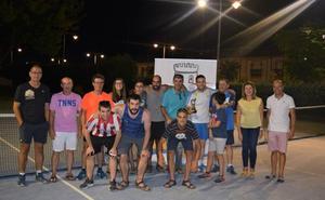 Juanma Montero se proclama ganador del torneo de tenis