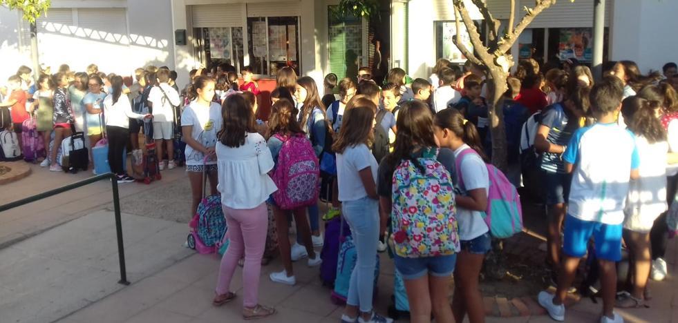 Un total de 342 alumnos han comenzado el nuevo curso en el colegio