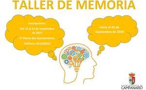 El Taller de Memoria y Estimulación Cognitiva vuelve ante la demanda de los usuarios