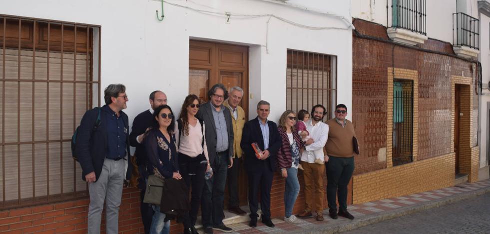 La casa natal de Antonio Núñez de Herrera cuenta con una placa para poner en valor su figura