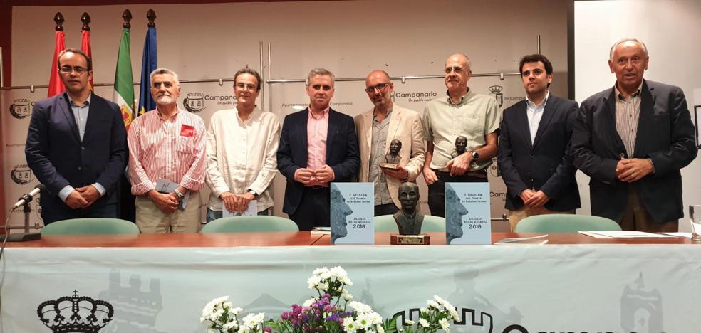 El onubense José Manuel García Durán gana el VI Premio 'Antonio Reyes Huertas' por su relato 'Cal y sangre'