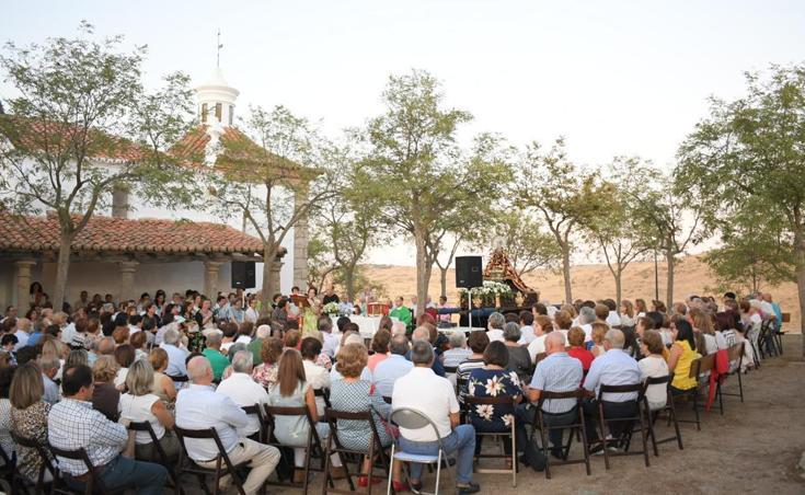 Acto del 64 aniversario de la Coronación Virgen de Piedraescrita como patrona de La Serena