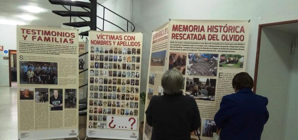 Una exposición da protagonismo a la memoria histórica