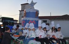 La Cabalgata de Reyes Magos llenó de ilusión las calles de Campanario