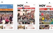 HOY Campanario realiza una exposición virtual de las 100 portadas del hiperlocal