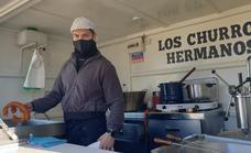 «Antes de la pandemia podía vender 250 churros, y ahora de 150-180»