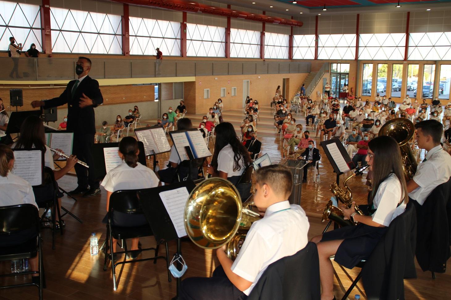 La Banda Municipal estrena el reformado Auditorio Municipal