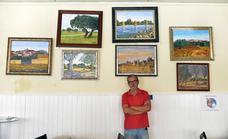 Tomás Gómez, el pintor que acerca sus cuadros a la ciudadanía
