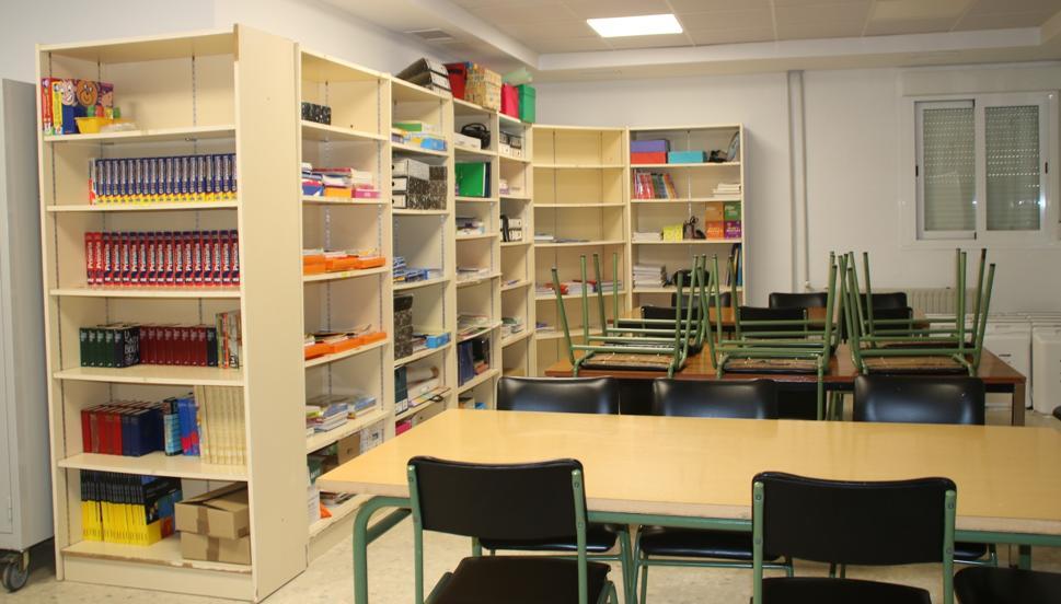 Así ha quedado el interior del renovado colegio