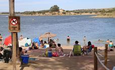 La Playa de Campanario ha recibido este verano más de 14.000 visitantes