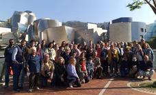 El viaje cultural al País Vasco deja buen sabor de boca