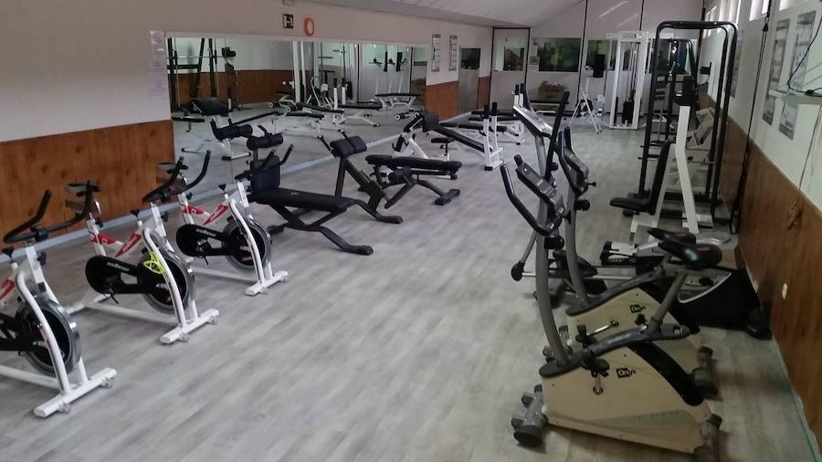 El gimnasio está ya listo para reabrir el 3 de diciembre