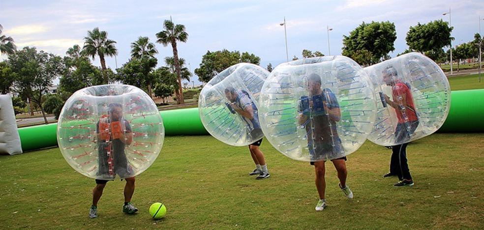 La Navidad deportiva traerá como novedad fútbol en burbujas