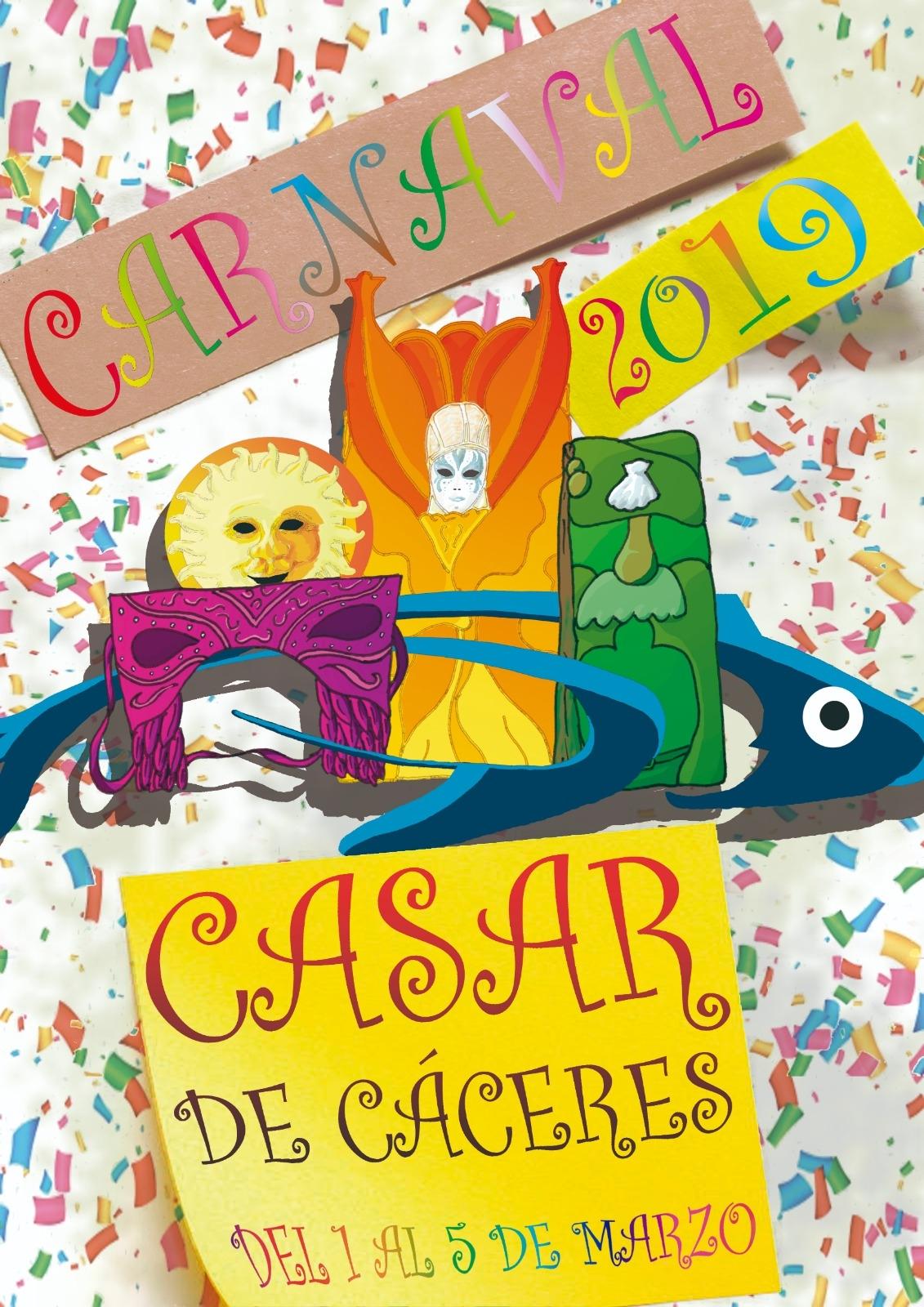 Casar de Cáceres ya tiene cartel anunciador de su Carnaval