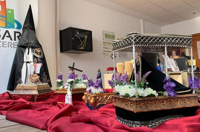 Una visión de la Semana Santa casareña en miniatura