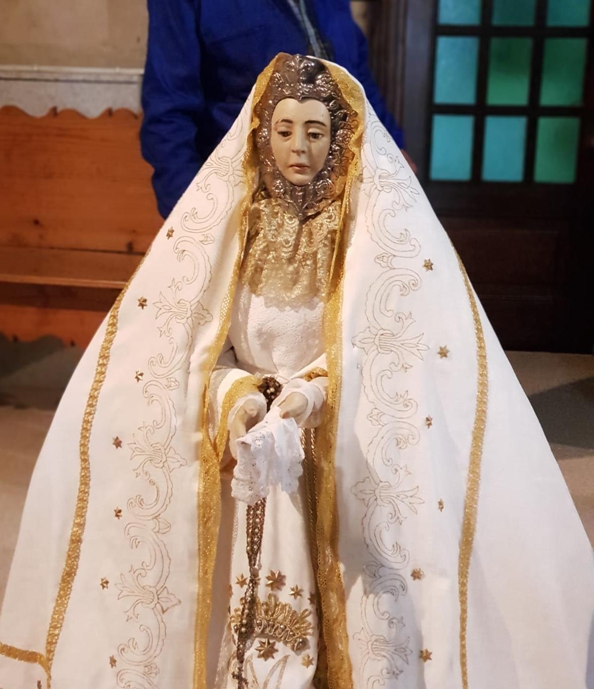 La Virgen del Consuelo será restaurada
