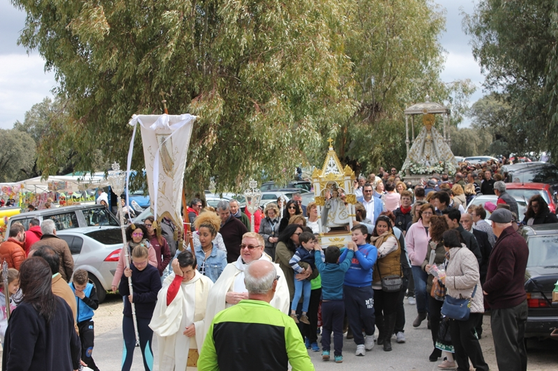 Los casareños celebran mañana su romería de Las Cruces