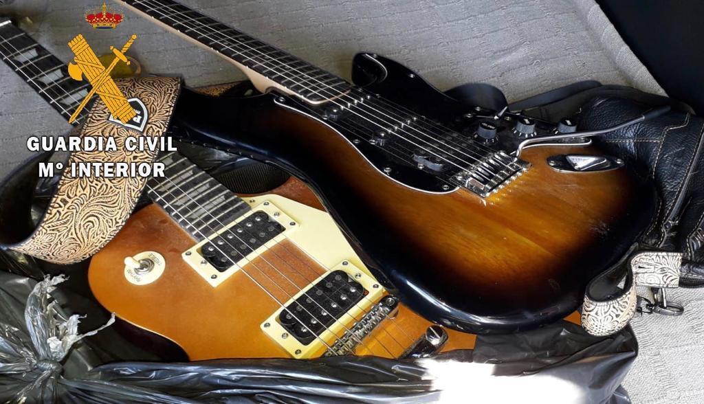 Cinco detenidos por el robo de varias guitarras en Casar de Cáceres