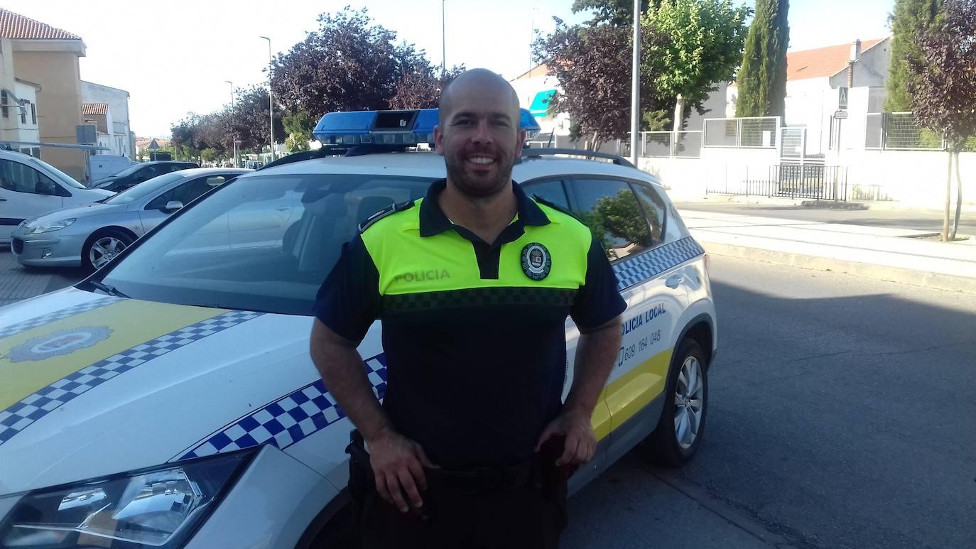 Juan Luis Blanco se incorpora a la plantilla de la Policía Local