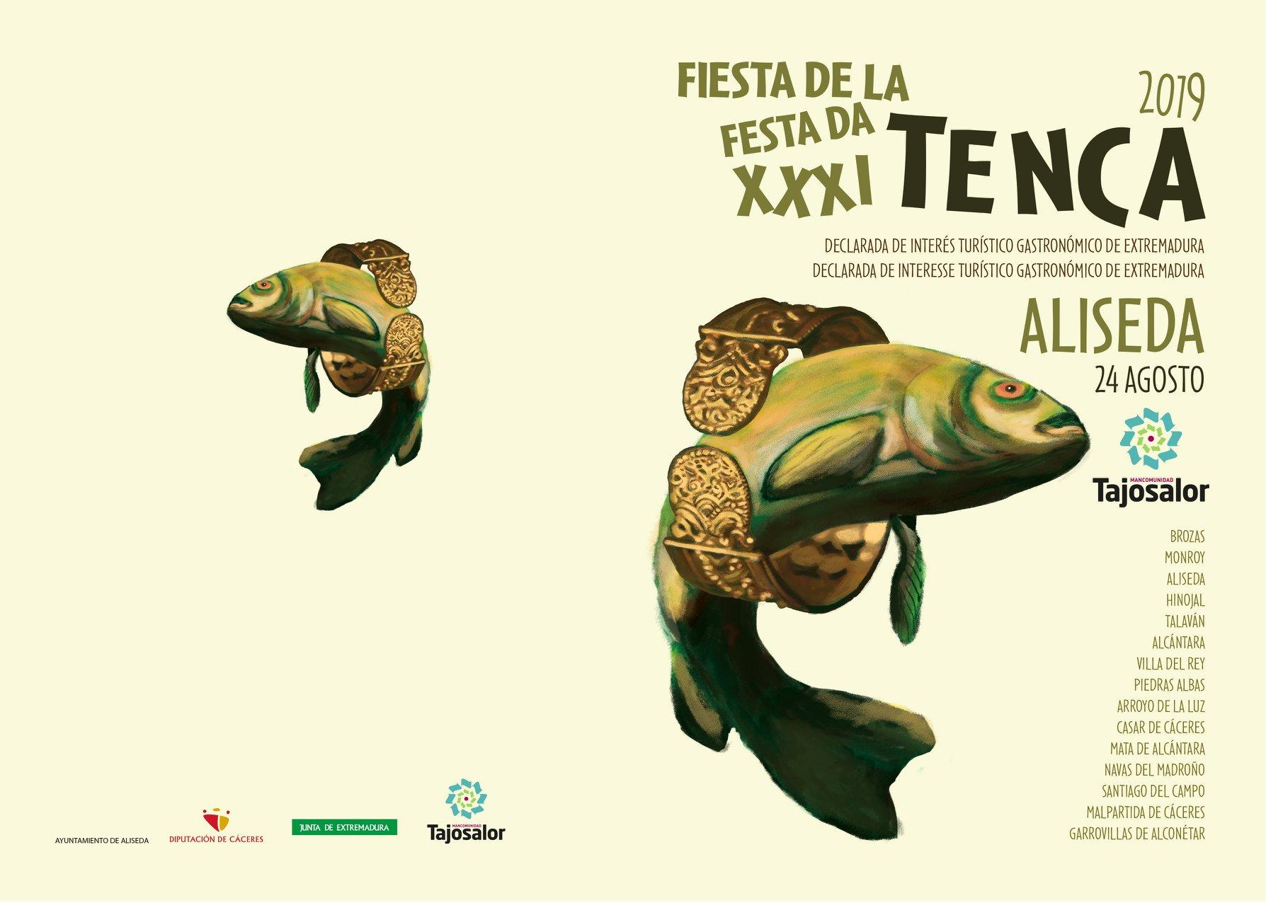 La Fiesta de la tenca será este año en Aliseda del 23 al 25 de agosto